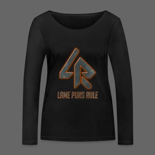 Lame Puns Rule: Logo - Women's Organic Longsleeve Shirt by Stanley & Stella