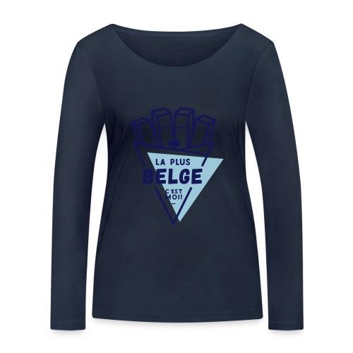 La+Belge - T-shirt manches longues bio Stanley & Stella Femme