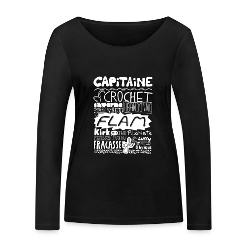 capitaine-blanc Tee shirts - T-shirt manches longues bio Stanley & Stella Femme