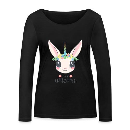 I am Unicorn - Frauen Bio-Langarmshirt von Stanley & Stella