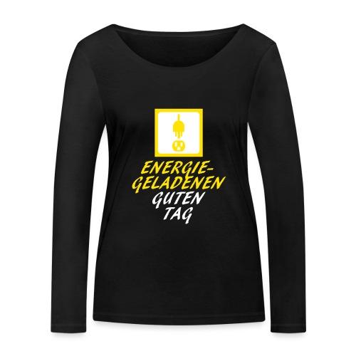 DieSteckdoze - Frauen Bio-Langarmshirt von Stanley & Stella
