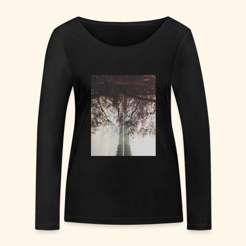 Natura - Ekologiczna koszulka damska z długim rękawem Stanley & Stella