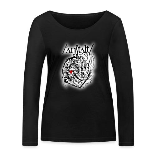 wesen mit herz und logo - Frauen Bio-Langarmshirt von Stanley & Stella