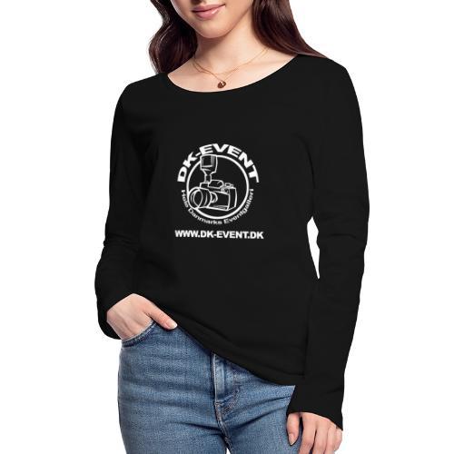 hvid trans - Økologisk Stanley & Stella langærmet T-shirt til damer