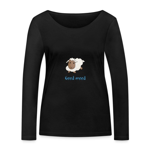 Nadège le petit mouton blanc - T-shirt manches longues bio Stanley & Stella Femme