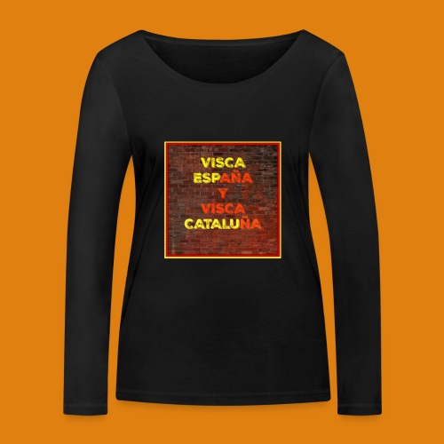 SPAIN AND CATALONIA - Women's Organic Longsleeve Shirt by Stanley & Stella