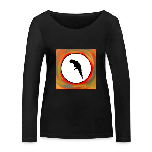 Papagei - Frauen Bio-Langarmshirt von Stanley & Stella