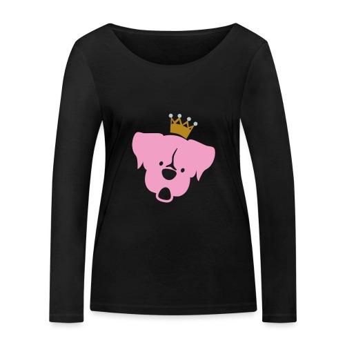 Prinz Poldi rosa - Frauen Bio-Langarmshirt von Stanley & Stella