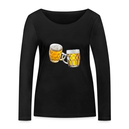 Boccali di birra - Maglietta a manica lunga ecologica da donna di Stanley & Stella