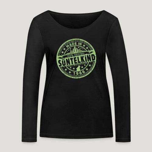SÜNTELKIND 1966 - Das Süntel Shirt mit Süntelturm - Frauen Bio-Langarmshirt von Stanley & Stella
