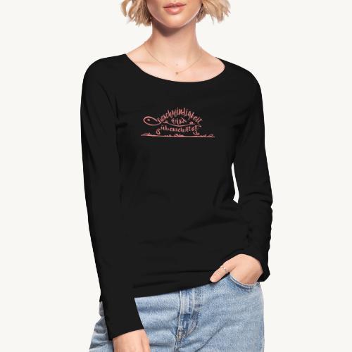 Mein Tempo - Schildkröte - Frauen Bio-Langarmshirt von Stanley & Stella