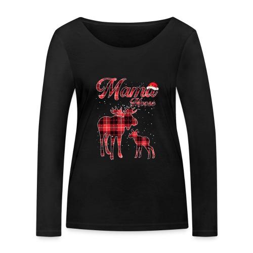 Mama Moose - Women's Organic Longsleeve Shirt by Stanley & Stella