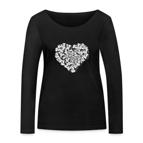 Street Love - Økologisk Stanley & Stella langærmet T-shirt til damer