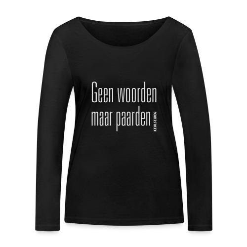 GWMP - Vrouwen bio shirt met lange mouwen van Stanley & Stella