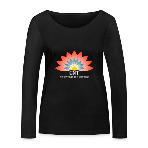 Support Renewable Energy with CNT to live green! - Women's Organic Longsleeve Shirt by Stanley & Stella