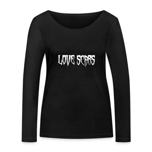 Love scars - Camiseta de manga larga ecológica mujer de Stanley & Stella