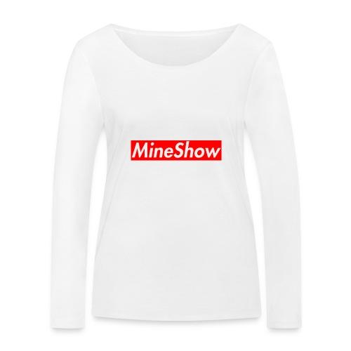 MineShow Box-Logo - Frauen Bio-Langarmshirt von Stanley & Stella