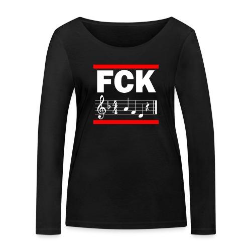fck - Frauen Bio-Langarmshirt von Stanley & Stella