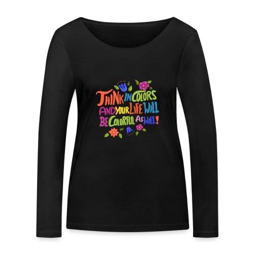 Think in Colors - Frauen Bio-Langarmshirt von Stanley & Stella