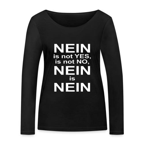 NEIN! - Women's Organic Longsleeve Shirt by Stanley & Stella