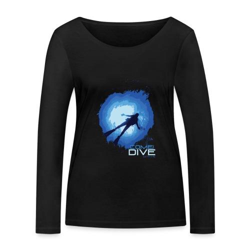 Come and dive with me - Ekologiczna koszulka damska z długim rękawem Stanley & Stella