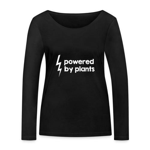 Powered by plants #2 - Frauen Bio-Langarmshirt von Stanley & Stella