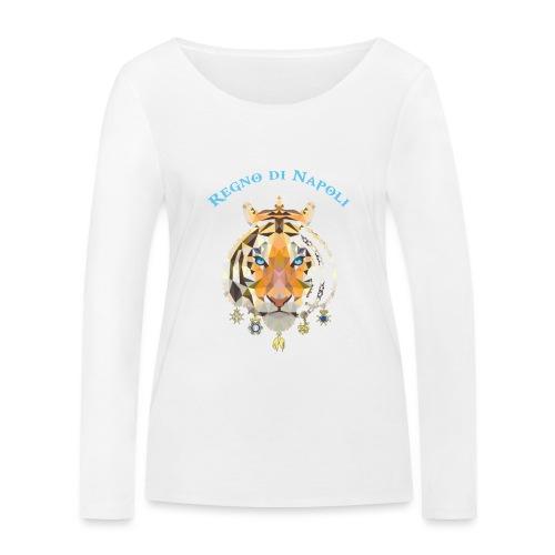 regno di napoli tigre - Maglietta a manica lunga ecologica da donna di Stanley & Stella