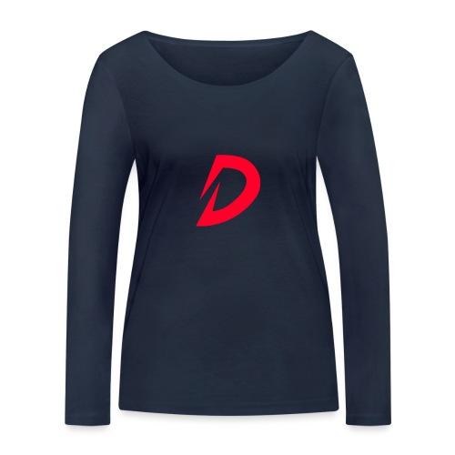 Destra Logo by Atelier render red - Vrouwen bio shirt met lange mouwen van Stanley & Stella