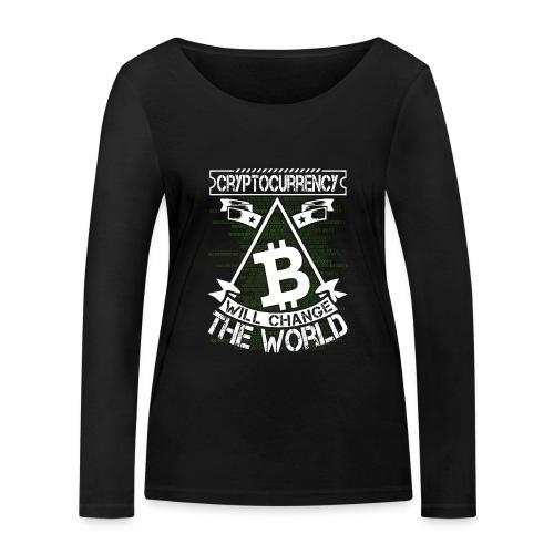 cryptocurrency - Vrouwen bio shirt met lange mouwen van Stanley & Stella