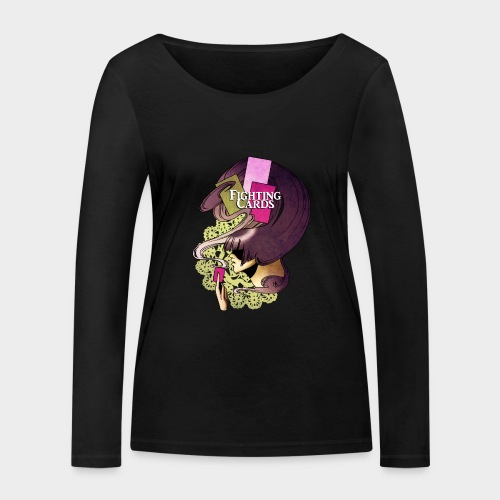 Fighting cards - Invocateur - T-shirt manches longues bio Stanley & Stella Femme