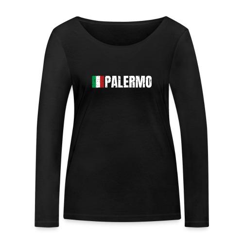 00071 Casa Papel Palermo bandera italia - Camiseta de manga larga ecológica mujer de Stanley & Stella