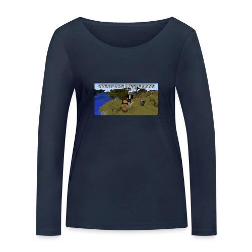 minecraft - Women's Organic Longsleeve Shirt by Stanley & Stella