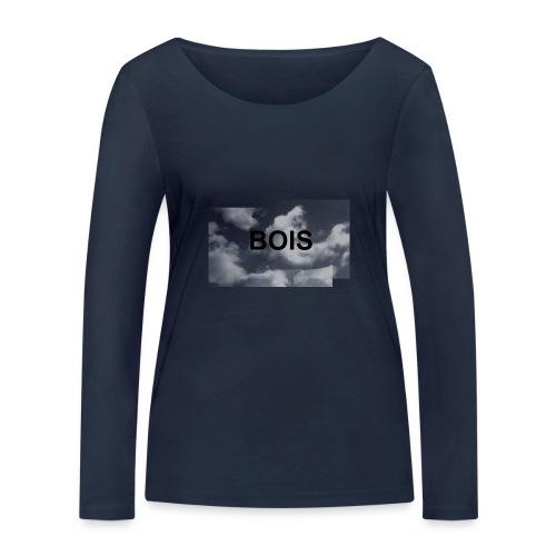 BOIS HÆTTETRØJE - Økologisk Stanley & Stella langærmet T-shirt til damer