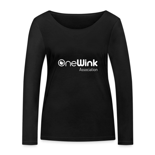 OneWink Association - T-shirt manches longues bio Stanley & Stella Femme