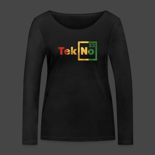 RYG TEKNO 23 - Maglietta a manica lunga ecologica da donna di Stanley & Stella