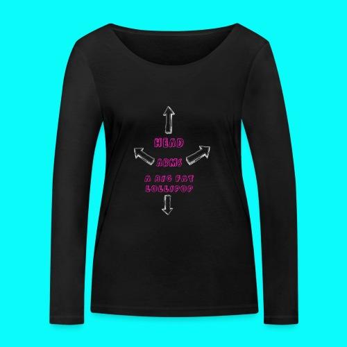 A BIG FAT LOLLIPOP - Ekologisk långärmad T-shirt dam från Stanley & Stella