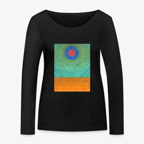 Noc Nad Pustynią - Ekologiczna koszulka damska z długim rękawem Stanley & Stella