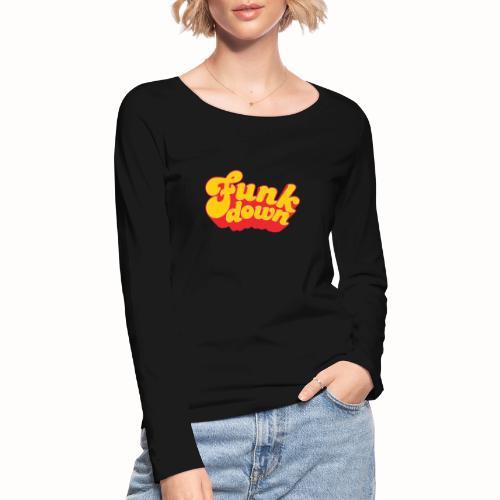 Funkdown Official Merchandise - Økologisk Stanley & Stella langærmet T-shirt til damer