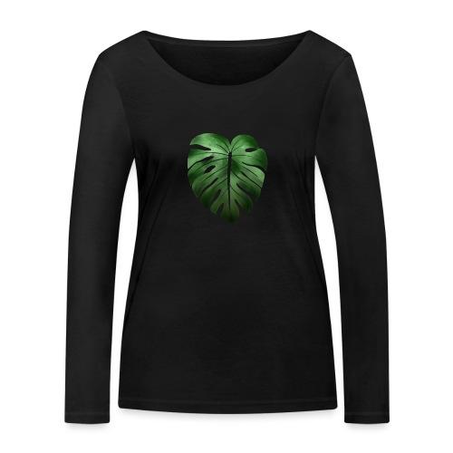 Foglia dalla Natura - Maglietta a manica lunga ecologica da donna di Stanley & Stella