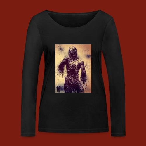 Zombie - Women's Organic Longsleeve Shirt by Stanley & Stella