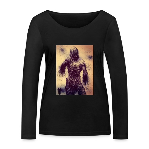 Zombie - Maglietta a manica lunga ecologica da donna di Stanley & Stella