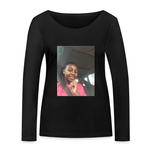 tee shirt personnalser par moi LeaFashonIndustri - T-shirt manches longues bio Stanley & Stella Femme