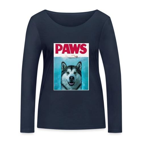 paws 2 - Women's Organic Longsleeve Shirt by Stanley & Stella