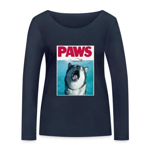paws Alaskan Malamute - Women's Organic Longsleeve Shirt by Stanley & Stella