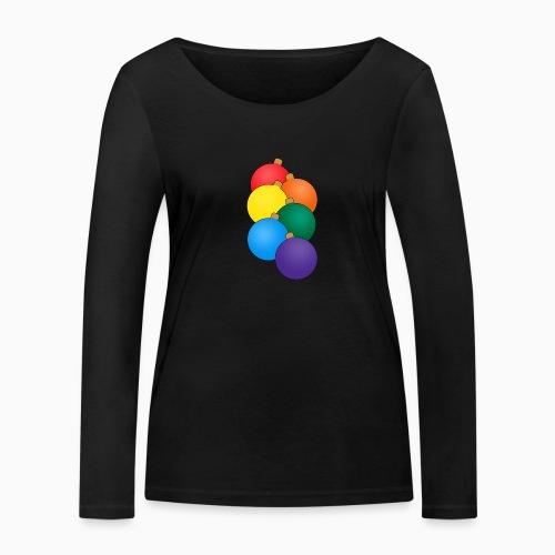 Christmas Pride - Women's Organic Longsleeve Shirt by Stanley & Stella