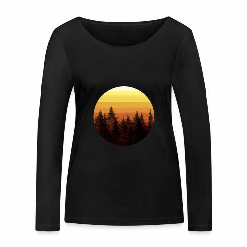 sunset - T-shirt manches longues bio Stanley & Stella Femme