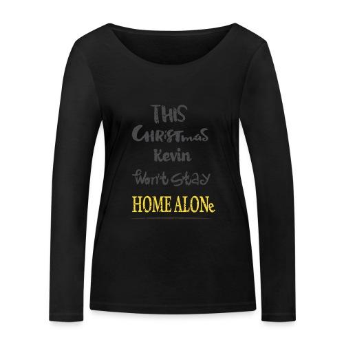 Kevin McCallister Home Alone - Ekologiczna koszulka damska z długim rękawem Stanley & Stella