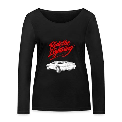 Delorean – Ride The Lightning - Frauen Bio-Langarmshirt von Stanley & Stella