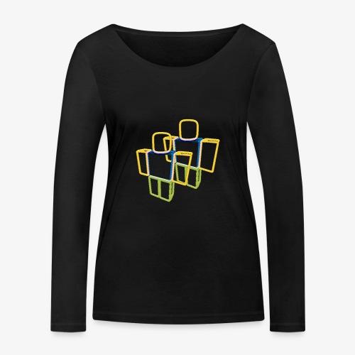 Sqaure Noob Person - Women's Organic Longsleeve Shirt by Stanley & Stella