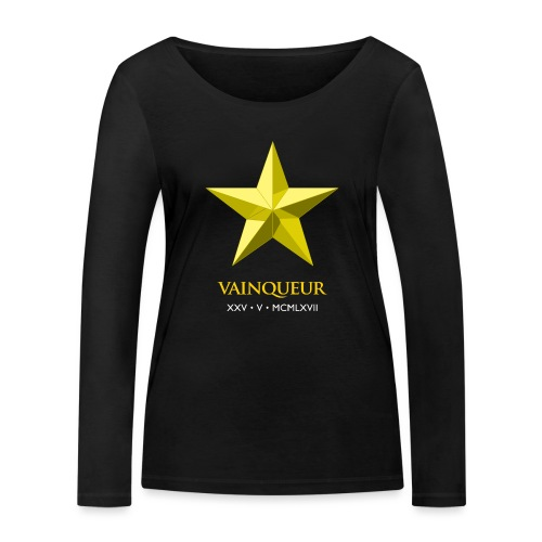 Vainqueur - Women's Organic Longsleeve Shirt by Stanley & Stella